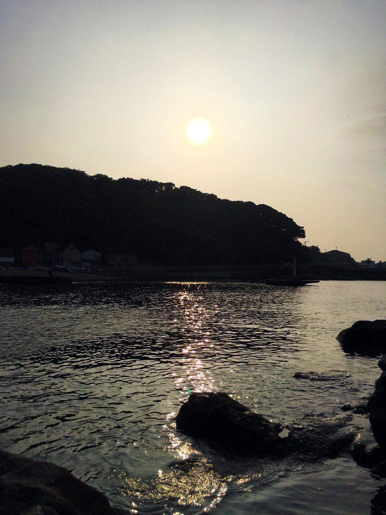 観音崎公園を後に(iPhoneで撮影)